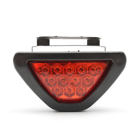 motorcycle rear brake stop light taillight strobe