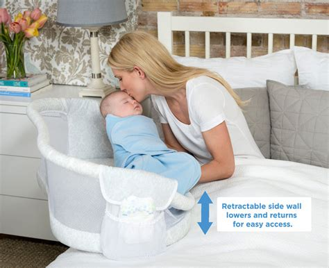 Infant Side Sleeper by Halo 174 Bassinest Swivel Sleeper Earns Jpma Innovation
