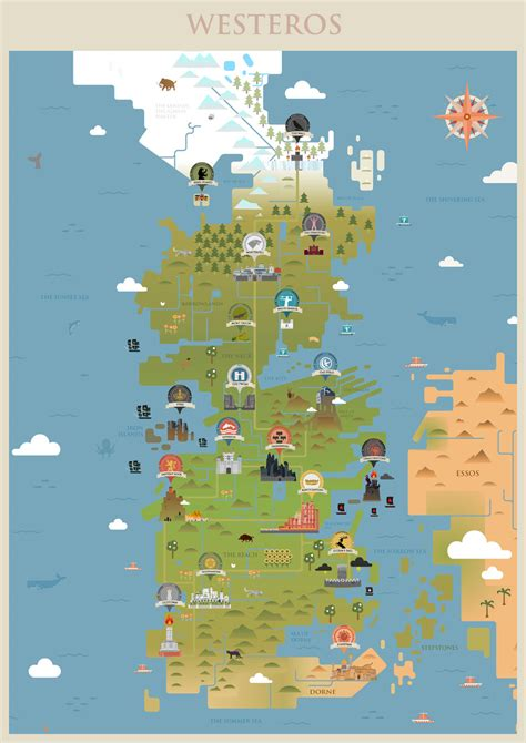 got map map of westeros world maps and letter