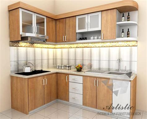 ide kitchen set minimalis  dapur kecil minimalis