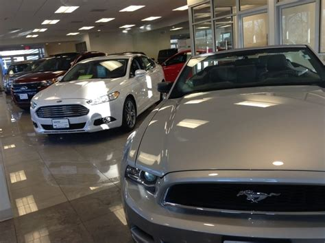 sentry ford lincoln ford showroom variety much yelp