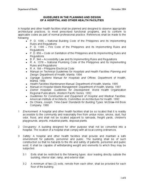 Hospital Design Guidelines Doh | doh manual hospital design toilet hospital