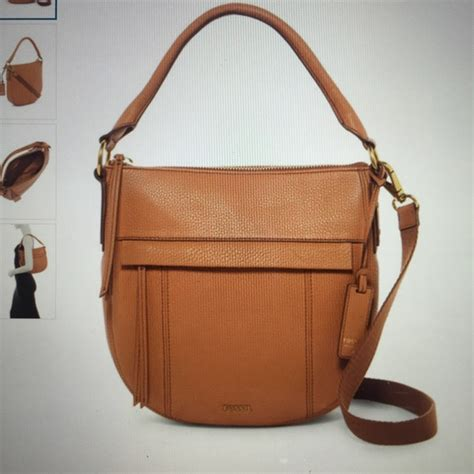 Fossil Molly Satchel 3 50 fossil handbags fossil brown molly leather hobo