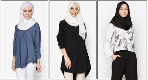 Duo Blouse Wanita pakaian wanita muslimah terkini pemborong pakaian