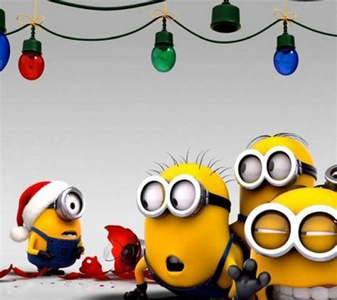images of christmas minions funny minions christmas 10 42 35 pm wednesday 16