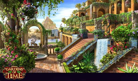 Gardens Of The Ancients - hanging gardens of babylon history in 2019