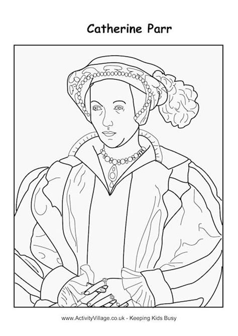 Tudor Colouring Pages Catherine Parr Colouring Page Oktouse Sca Youth Quiet by Tudor Colouring Pages