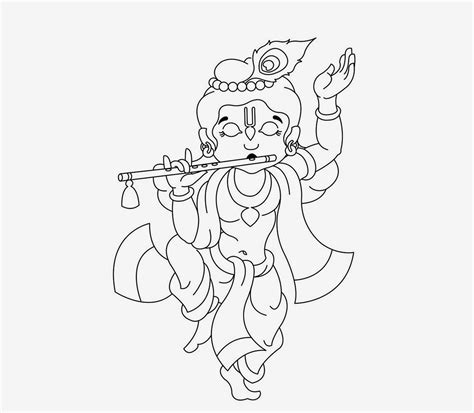 krishna pictures to colour royalty free digital stock