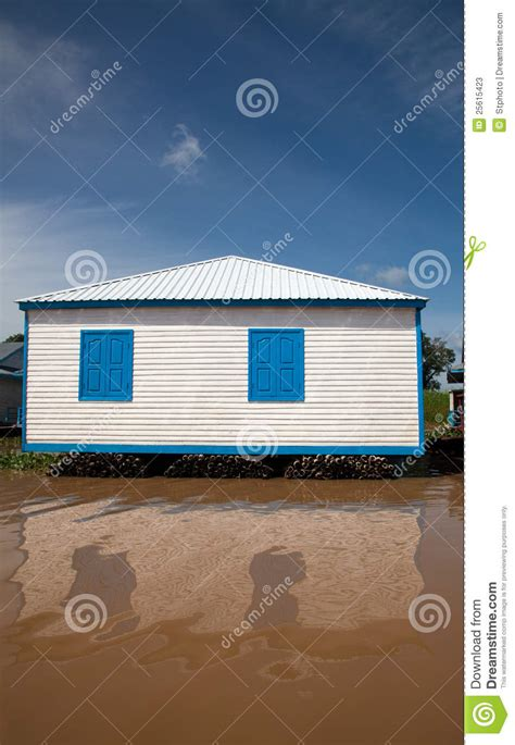 white house blue white house with blue shutters stock image image 25615423