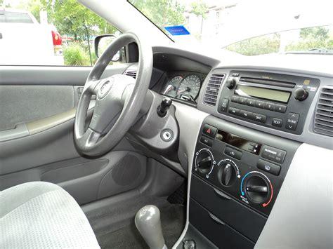 2006 Toyota Corolla Interior 2006 Toyota Corolla Pictures Cargurus