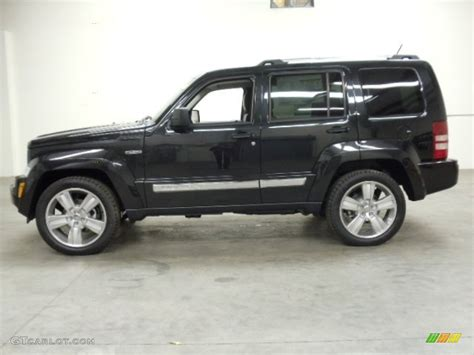 Jeep Liberty 2012 Black Brilliant Black Pearl 2012 Jeep Liberty Jet 4x4