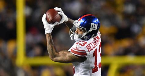 Beckham 5 In 1 15819 odell beckham jr rips officials after giants loss to steelers ny daily news