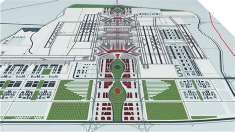 layout bandara kertajati naco ontwerpt nieuwe megaluchthaven bij beijing