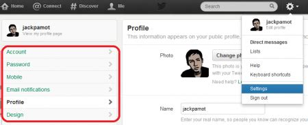 membuat twitter di bb cara mengganti tilan background di twitter