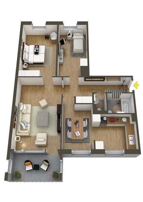 40 More 2 Bedroom Home Floor Plans | 40 more 2 bedroom home floor plans