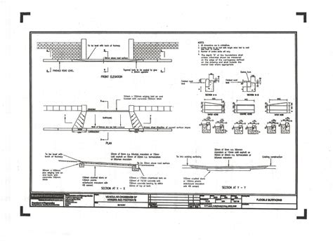 Home Design Plans Map vehicular crossing plans 171 awp tarmac