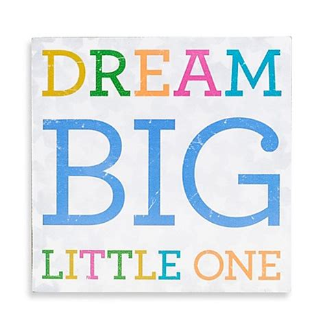 design your dream face about face designs dream big little one plaque buybuy baby