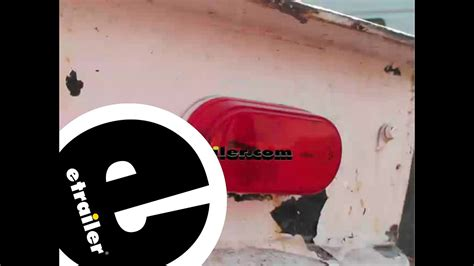 boat trailer side marker lights not working optronics oval trailer clearance and side marker light