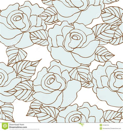 seamless pattern vector tutorial seamless pattern of rose flower stock photography image