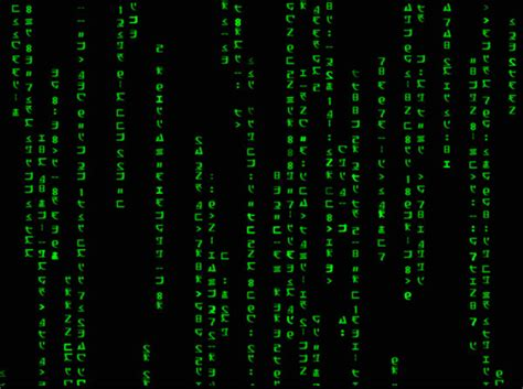 animation code animated matrix code wallpaper