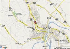 Houma Louisiana Map by Map Of Holiday Inn Houma Houma