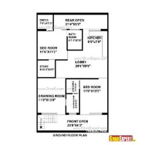 home design for 20x50 plot size house plan for 28 feet by 48 feet plot plot size 149