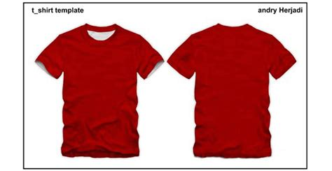 Free T Shirt Template Front And Back Psd Files Vectors Graphics 365psd Com T Shirt Front And Back Template