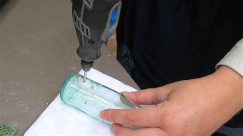 faire un trou dans du verre 5114 r 233 cup et fabrique un vase original