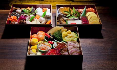 new year food box japanese new years osechi box food