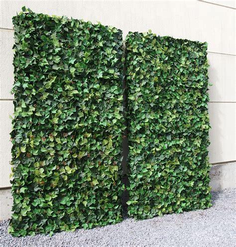kunstpflanzen wetterfest individuelle heckenelemente kuv9