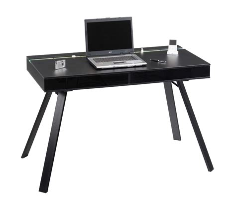 Black Computer Desk Uk Workline 500 Black High Gloss Computer Desk Review Compare Prices Buy