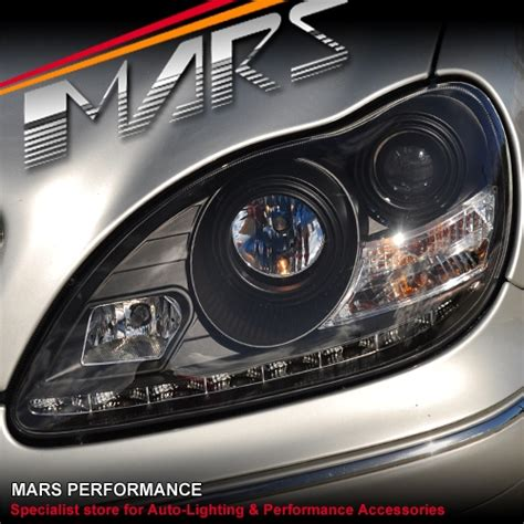 Drl Mercy S Class W220 led day time drl projector lights for mecedes s class w220 98 05 mars performance