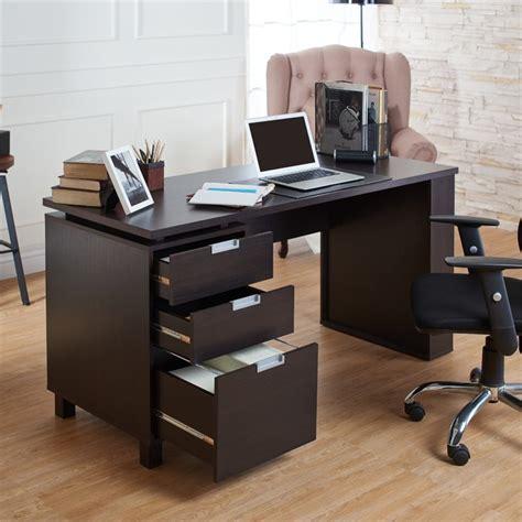 Furniture Of America Nickolas Modern Office Desk In Modern Espresso Desk