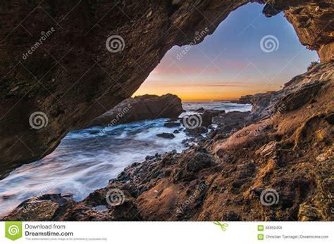 magic l long beach magic hour in laguna beach stock photo image of frame