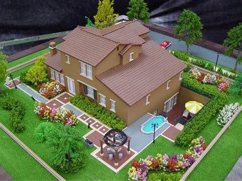 miniature residential house model architectural models scale model the miniature of mega buildings xcitefun net