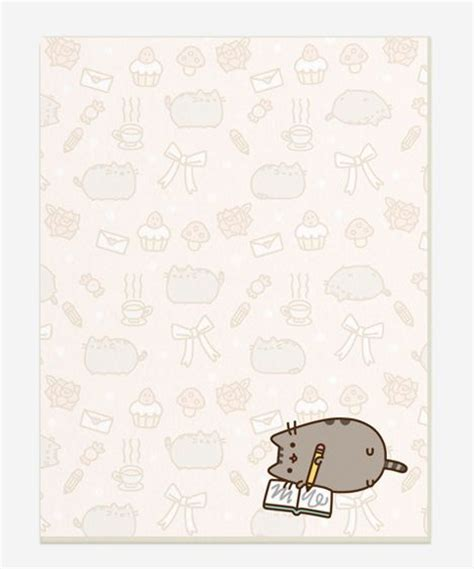 printable cat stationery paper bg pattern mamegoma まめゴマ pinterest pusheen