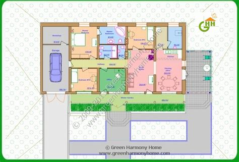 green home floor plans 4 exles of passive solar house plans passive solar