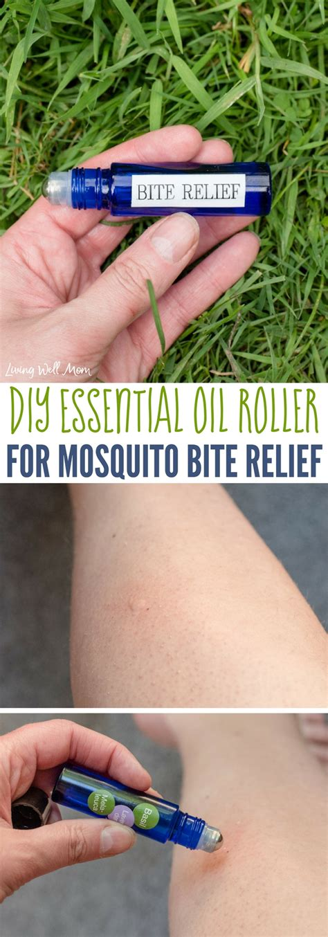 Insect Bites With Essential diy essential roller for mosquito bite relief