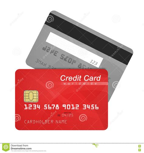 Shiny Templates Credit Card Novafile by Front And Back Of Credit Card Vector