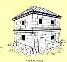 casa etrusca viviendas etruscas no lo se 191 o si