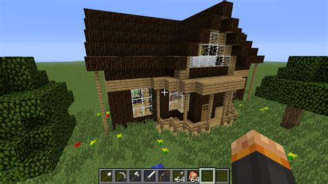 Cool Minecraft Cabins by Awesome Log Cabin Creative Mode Minecraft Java