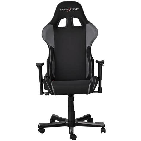 pc gaming stuhl dxracer fe11 formular gaming stuhl schwarz grau bei