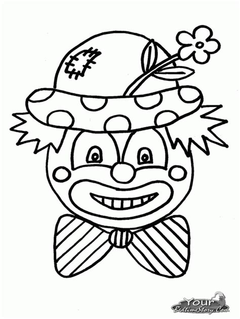clown coloring pages pdf scary clown colouring pages page 2 130100 clown coloring