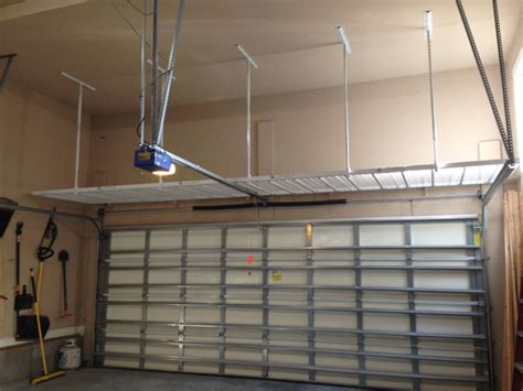Above Garage Door Storage How To Build Mezzanine In Serta Master Sleeper Crib And Toddler Mattress