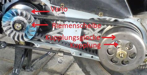Auto Tuning Bersetzung by Variomatik Automatikgetriebe Eines Rollers Roller