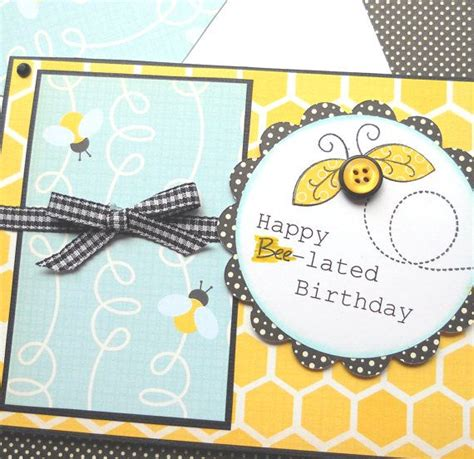 Handmade Belated Birthday Cards - best 20 belated birthday card ideas on