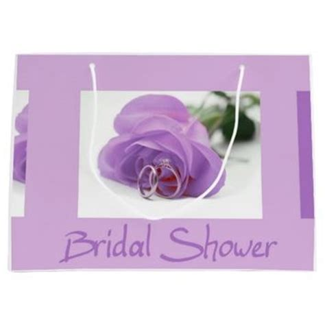 large bridal shower gift bag bridal shower large gift bag from zazzle all about weddings