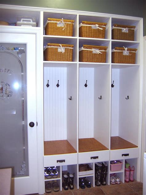 mudroom storage white cottage mudrooms hgtv