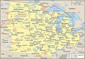 midwest region of the united states map middle west region united states britannica