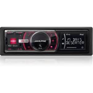 car audio system alpine cd unit cde 103ebt